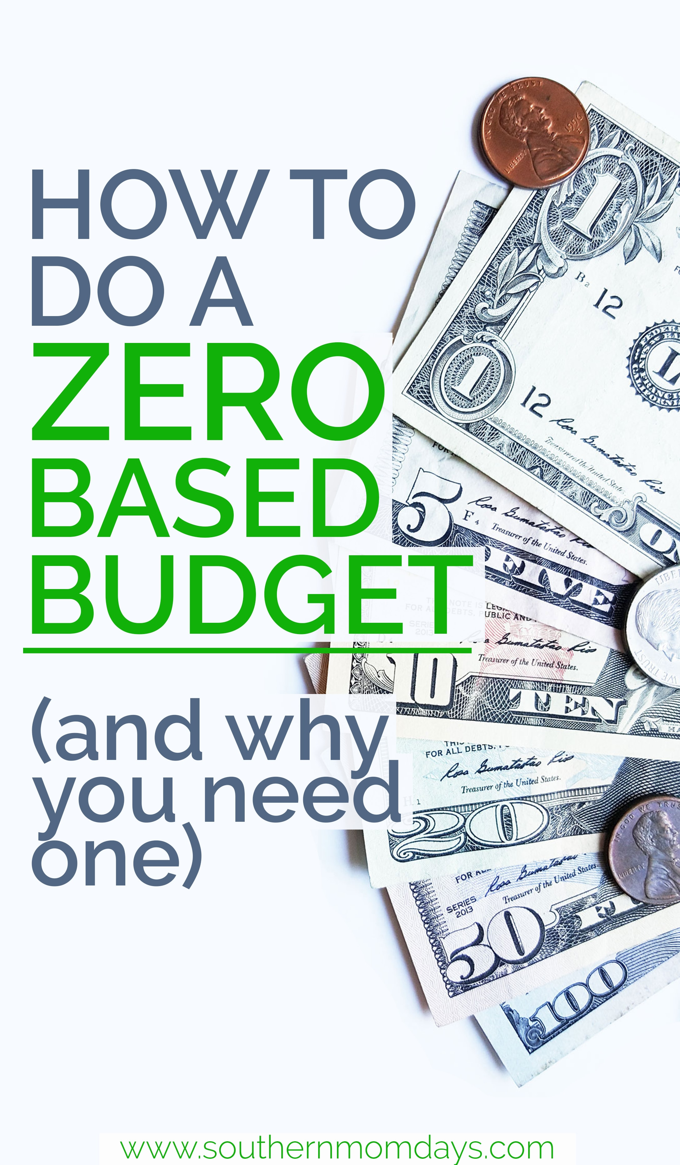 How to do a zero-based budget (and why!), featured on the Southern Momdays blog