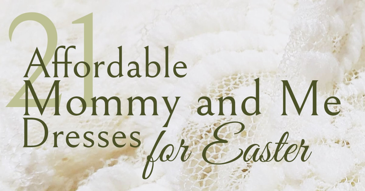 21 affordable mommy and me dresses for easter  southern